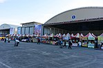 Hualien Air Force Base Open Day Festival Booths in Morning 20170923.jpg