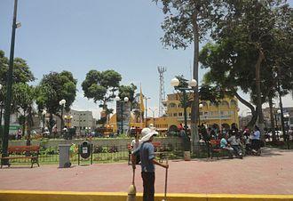 Huaral - Plaza de Armas of Huaral