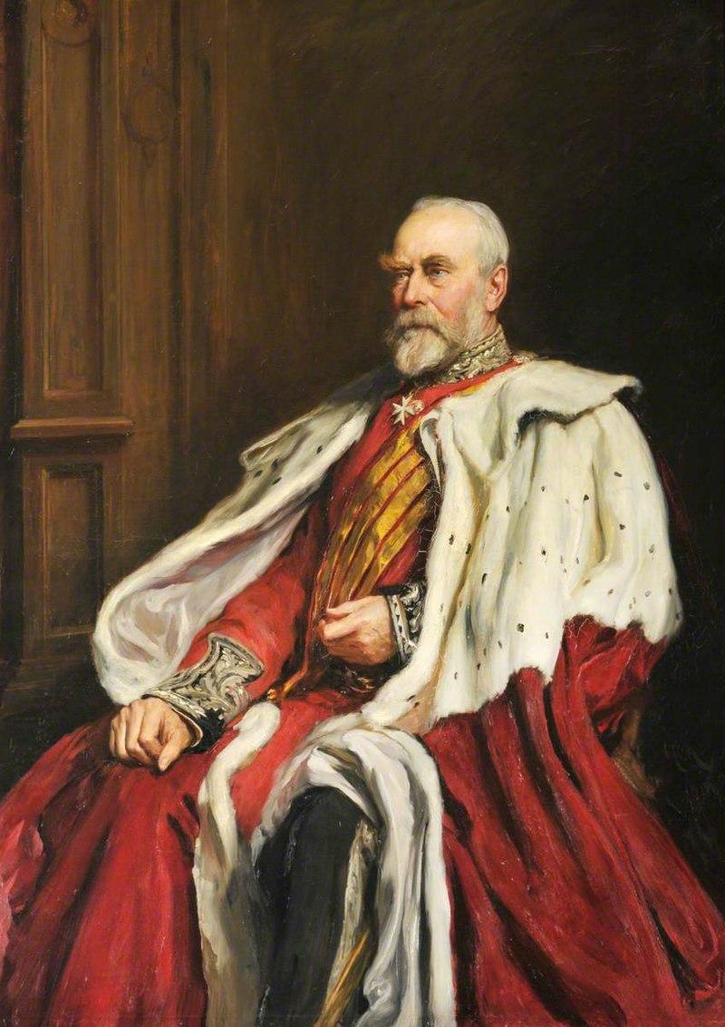 Хуберт фон Херкомер (1849-1914) - Уилбрахам Эгертон (1832-1909), граф 2-й барон Эгертон Таттонский - 1298223 - National Trust.jpg