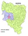 Huesca municipio mapa.png