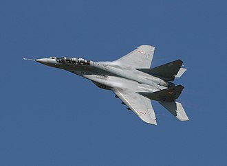 Post-PFI Soviet/Russian aircraft projects - The result of the LPFI project was the Mikoyan MiG-29 Fulcrum.