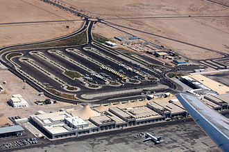 Hurghada International Airport - Aerial overview