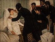 Une séance d'hypnose en 1887.