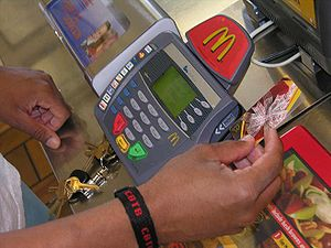I'm loving it -- debit card at the Guantanamo McDonalds.jpg