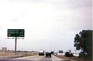I-135 in Salina, Kansas.