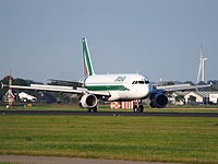 I-BIKO - A320 - Alitalia