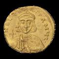 INC-1543-a Солид Лев III Исавр и Константин V ок. 717-741 гг. (аверс).png