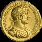 INC-1842-a Ауреус Адриан ок.  119-122 гг.  (аверс) .png