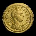 INC-1860-a Ауреус. Тацит. Ок. 275—276 гг. (аверс).png