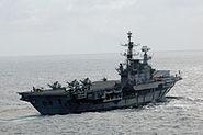 INS Viraat sail Malabar 07