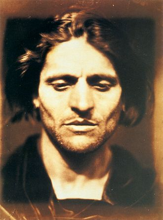 """Angelo Colarossi - Julia Margaret Cameron's 1867 photograph """"Iago, Study from an Italian"""", identified by Colin Ford as Angelo Colarossi senior"""