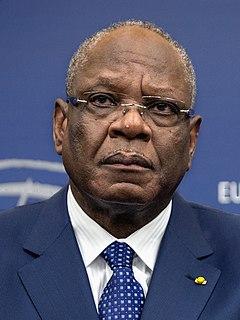 Ibrahim Boubacar Keïta Malian politician