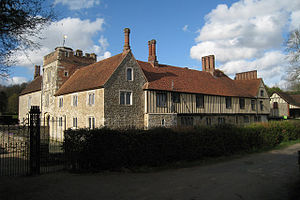 William Haute (MP) - Ightham Mote, greatly developed by Richard Haute during the later 15th century