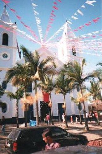 Cunha, São Paulo - The main church in downtown Cunha