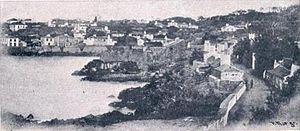 São Mateus da Calheta - A view of São Mateus da Calheta in 1903