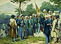 Imam Shamil surrendered to Count Baryatinsky on August 25, 1859 by Kivshenko, Alexei Danilovich.jpg