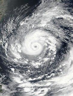 Typhoon In-fa Pacific typhoon in 2021