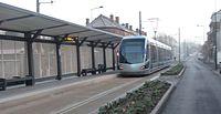 Inauguration de la branche vers Vieux-Condé de la ligne B du tramway de Valenciennes le 13 décembre 2013 (014).JPG