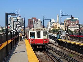 Red Line (MBTA) Boston subway line