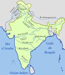 Carte De Linde Avec Le Gange.Geographie De L Inde Wikipedia