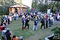 Indian dancing, funeral potlatch, Tanana, Alaska.jpg