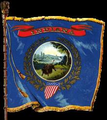 Flag of Indiana - Wikipedia