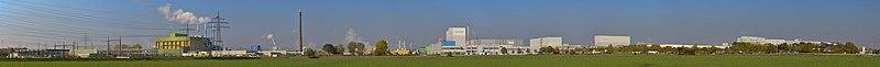 Industry park Höchst south side panorama - Industriepark Höchst Südseite - 01.jpg