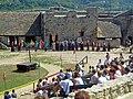 Inside-Castle of Sümeg in Hungary.jpg