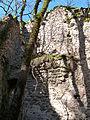 Intérieur de la maison du meunier (ruines).JPG