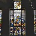 Interieur, aanzicht gebrandschilderd glas-in-loodraam - Groningen - 20366712 - RCE.jpg