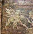 Interieur koor, gewelfschilderingen, vak 5, detail, na restauratie - Warmenhuizen - 20356251 - RCE.jpg