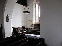 Interior of St Peter's church, Creeton.jpg