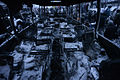 Interior of a military troops' bus occupied and burned by protesters and now serving as a barricade, Euromaidan Protests.jpg