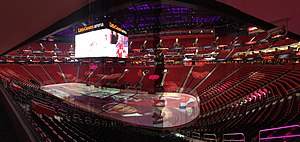 Little Caesars Arena - Interior of Little Caesars Arena.