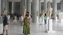 Interior of the New Acropolis Museum 1.jpg