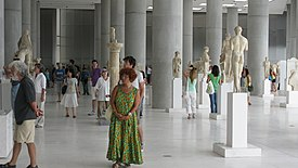 Interior of the New Acropolis Museum 1.jpg