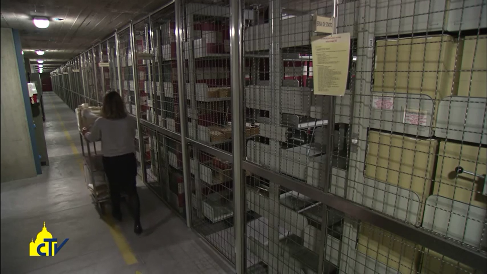 Interiors of Vatican Secret Archives B