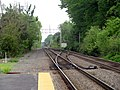 Interlocking south of Wilmington station, May 2016.JPG