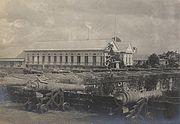 Spanische Geschütze in Intramuros 1902