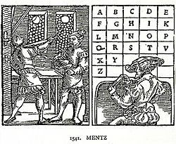 1541eko alfabeto bat; 23 letra zeuzkan.