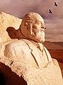 Iran - Neyshabour - Parviz Meshkatian's Statue - بیست و چهارم اردیبهشت زادروز استاد پرویز مشکاتیان - panoramio.jpg