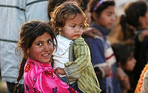 Refugees of Iraq - Image: Iraqi refugee children, Damascus, Syria
