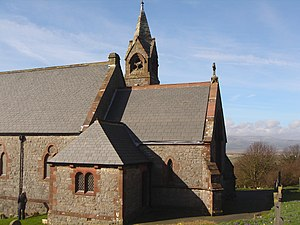Askam and Ireleth - St. Peter's church (CoE), at the top of Ireleth