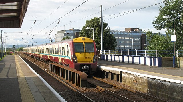 Irvine Station - geograph.org.uk - 1625076