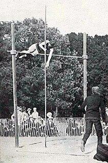 Athletics at the 1900 Summer Olympics – Mens pole vault Athletics at the Olympics