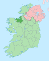 Island of Ireland location map Sligo.svg