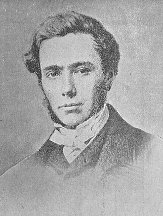 William Thomas (Islwyn) - Photographic portrait of Islwyn. The poet was 27 years old when this picture was taken, in 1859.