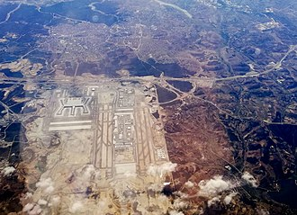 Istanbul Airport - Aerial view of the airport in September 2018