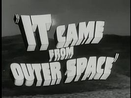 Файл:It Came from Outer Space trailer(1953).webm