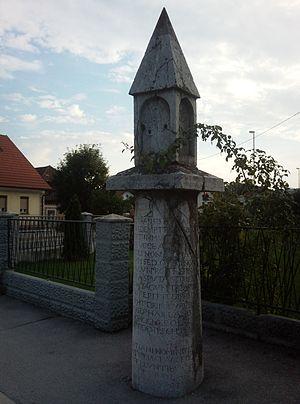 Ivančna Gorica - Roman milestone